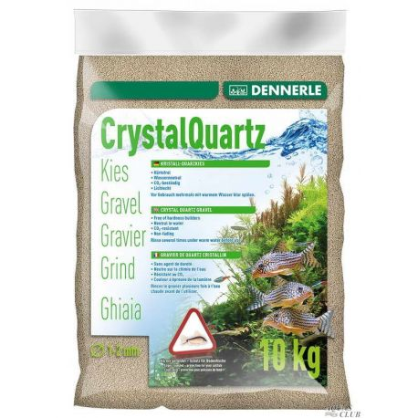 Dennerle Crystal Quartz Gravel Natural White 10 кг