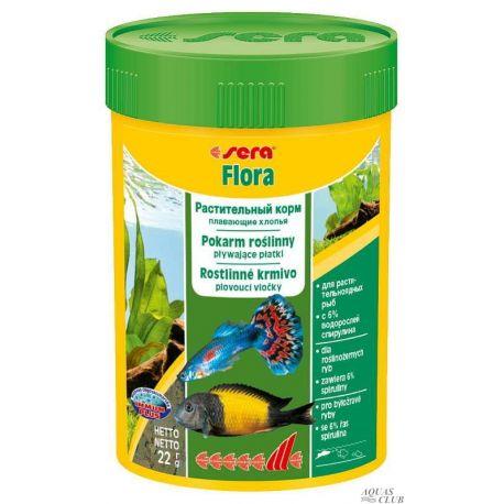 SERA flora 100 мл, 22 г