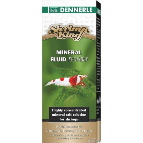 Dennerle Shrimp King Mineral Fluid Double 100 мл