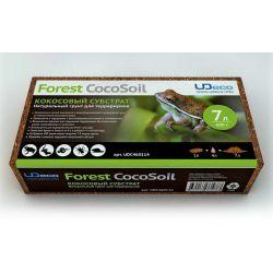 UDeco Forest CocoSoil 7 л – Натуральный кокосовый субстрат для террариумов