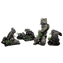 "ArtUniq Steep Gray Cliffs Set 4M – ""Серые скалы"" 4 части"