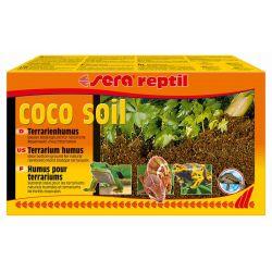SERA reptil coco soil – Террариумный грунт из кокосового волокна (брикет)