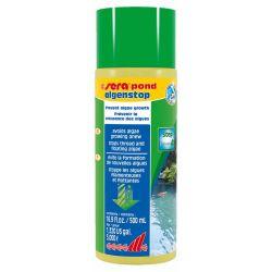 SERA pond algenstop 500 мл – Средство против плавающих и нитчатых водорослей в прудах