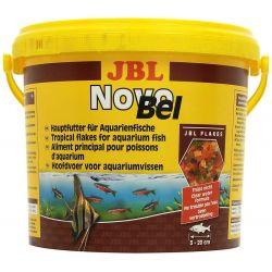 JBL NovoBel 5.5 л – Основной корм в форме хлопьев для всех аквариумных рыб 950 г