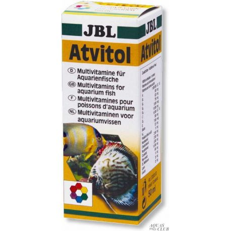 JBL Atvitol 50 мл – Мультивитамины в каплях для аквариумных рыб