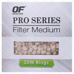 Ocean Free 3DM Rings S 0,5 л – Наполнитель для фильтров керамический высокопористый