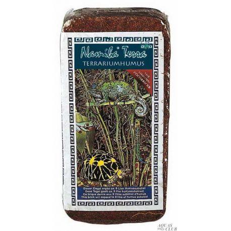 "Namibia Terra CocoBrick Tarrariumhumus 650 г – Натуральный ""Кокосовый гумус"""