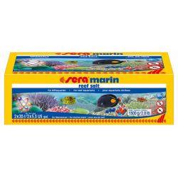 SERA marin reef salt 1,3 кг – Соль морская рифовая