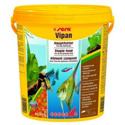 SERA Vipan 20 л – Основной корм для всех видов рыб 4 кг