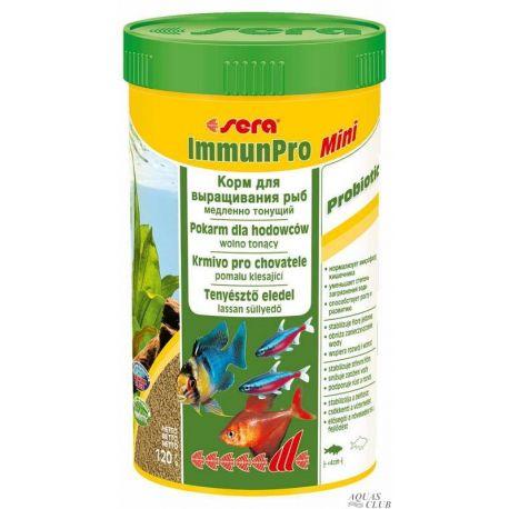 SERA ImmunPro Mini 250 мл – Корм гранулированный для выращивания