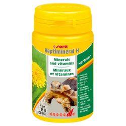 SERA Reptimineral H 100 мл – Витаминно-минеральная подкормка для растительноядных рептилий