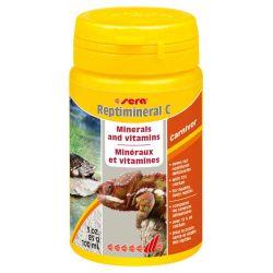 SERA Reptimineral C 100 мл – Витаминно-минеральная подкормка для плотоядных рептилий