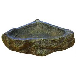 Reptile One Reptile Corner Dish М – Кормушка угловая для рептилий, средняя