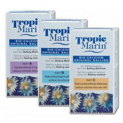 Tropic Marine Bio-Calcium Original Balling A, B, C, 3x1кг – Комплект добавок для морской воды