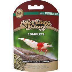 Dennerle Shrimp King Complete 45 г – Основной корм в форме палочек для креветок