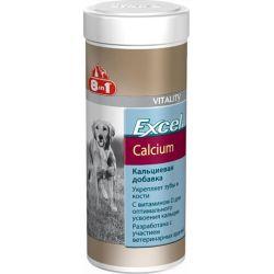 8in1 Excel Calcium 470 табл. – Добавка для щенков и взрослых собак с кальцием и фосфором