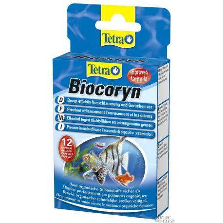 Tetra Biocoryn 12 капсул – Кондиционер для биологической очистки