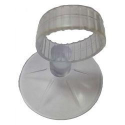 Присоска силиконовая с креплением 40 мм 1шт