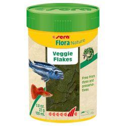 SERA Flora Nature 100 мл – Натуральный растительный корм, хлопья