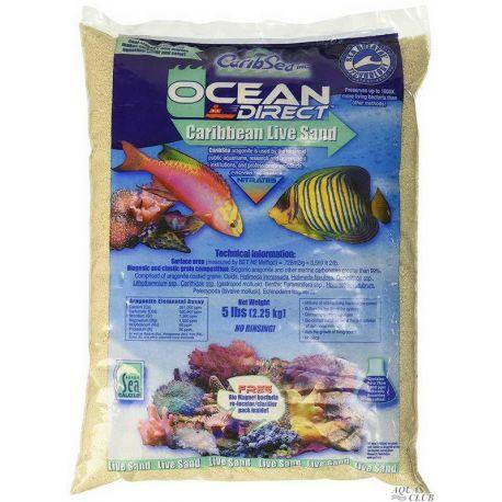 Carib Sea Ocean Direct Original Grade – Песок живой арагонитовый