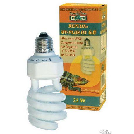 Namiba Terra UV-Replux® UV-Plus D3, 23W, E27, 30%-UVA, 6%-UVB – Лампа для террариума