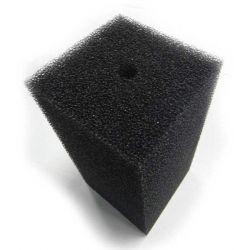Губка фильтрующая Roof Foam с отверстием 200х100x100 мм, PPI20, черная