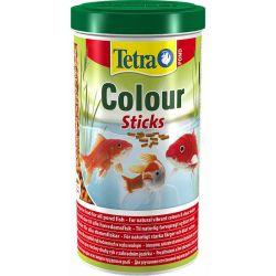 Tetra Pond Color Sticks 1 л – Плавающий корм усиливающий яркость окраски