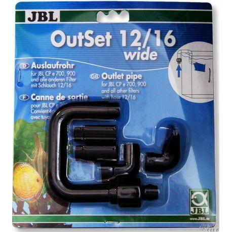 JBL OutSet wide 12/16 – Комплект для выпуска воды для внешних фильтров