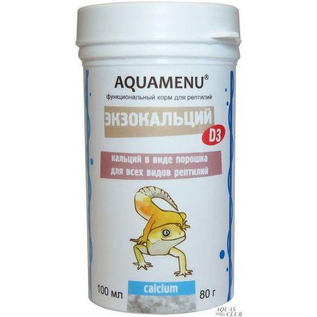 АКВА МЕНЮ Экзокальций с витамином D3 100 мл, 80 г