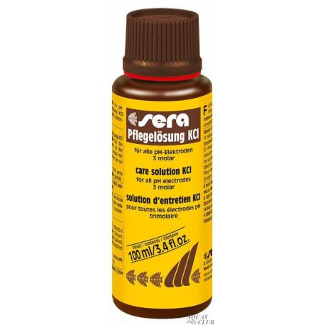 SERA Сare solution KCl 100 мл – Раствор KCl для ухода за pH-электродами