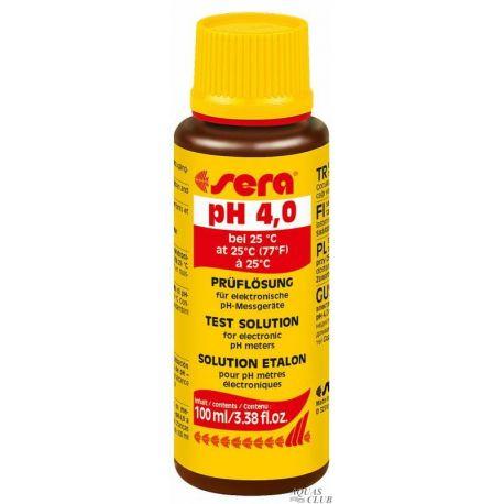 SERA Test solution pH 4.0 100 мл – Раствор калибровочный