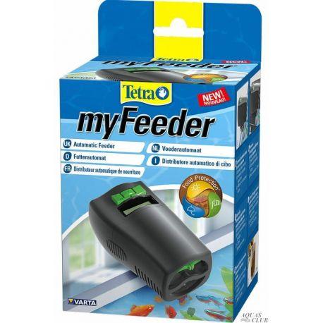 Tetra MyFeeder Black – Автоматическая кормушка для аквариумных рыб, черная