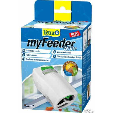 Tetra MyFeeder White – Автоматическая кормушка для аквариумных рыб, белая
