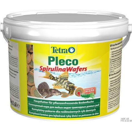 Tetra Pleco Spirulina Wafers 3,6 л – Корм для всех растительноядных донных рыб