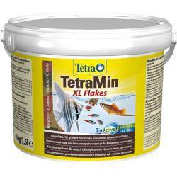 Tetra TetraMin XL Flakes 3,6 л – Основной корм для тропических рыб, хлопья