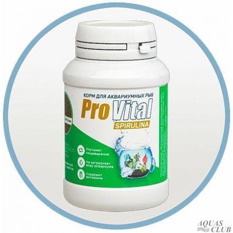 Prestige Aqua Provital Spirulina 200мл – Растительный корм