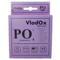 VladOx PO4 тест – Тест для измерения уровня фосфатов