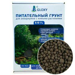 Gloxy Soil 2-4 мм, 5 л – Грунт питательный, для аквариумов с растениями