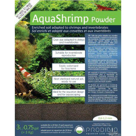Грунт PRODIBIO AquaShrimp Powder 0.6-1.2 мм 3 л