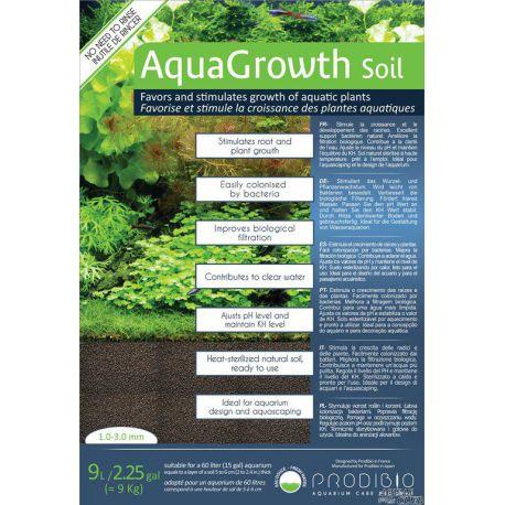 Грунт PRODIBIO AquaGrowth Soil 1-3 мм 9 л