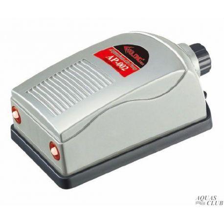 Компрессор XILONG AP-002, двухканальный, 5Вт, 2х2,5 л/мин с регулятором