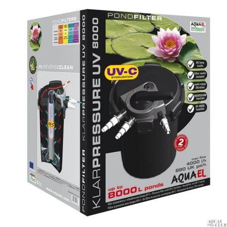AQUAEL KLARPRESSURE UV 8000 – Фильтр со стерилизатором до 8000л