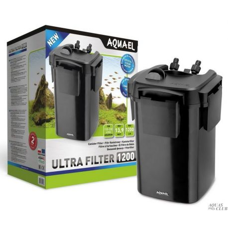 AQUAEL ULTRA FILTER 1200 – Фильтр внешний 1200 л/ч до 300 л