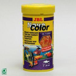 JBL NovoColor 100 мл – Корм в виде хлопьев для усиления окраски