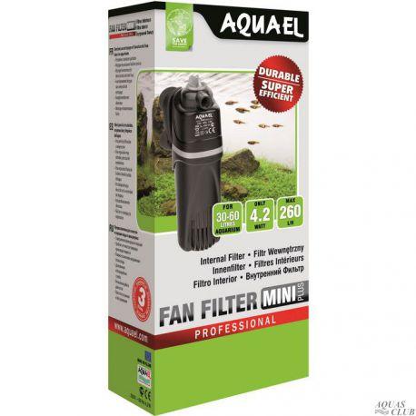 AQUAEL FAN-mini plus – Фильтр внутренний 260 л/ч до 60 л