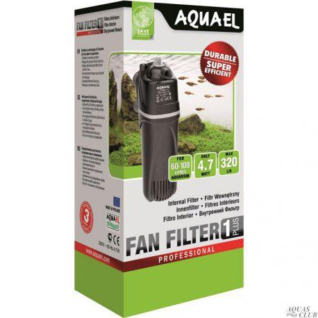 AQUAEL FAN-1 plus – Фильтр внутренний 320 л/ч до 100 л