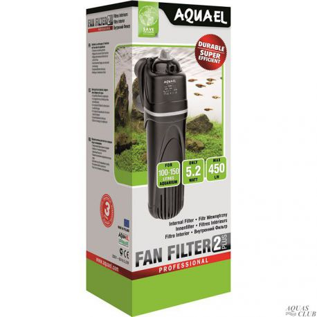 AQUAEL FAN-2 plus – Фильтр внутренний 450 л/ч до 150 л