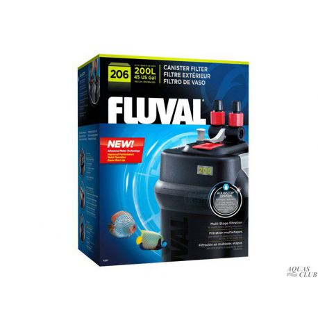Фильтр внешний FLUVAL 206 780 л/ч до 200 л