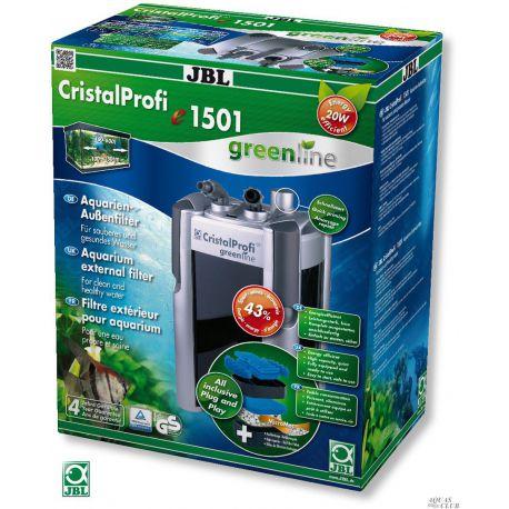 JBL CristalProfi e1501 greenline – Внешний фильтр 1400 л/ч до 600 л
