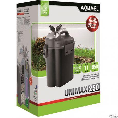 AQUAEL UNIMAX 250 – Фильтр внешний 650 л/ч до 250 л